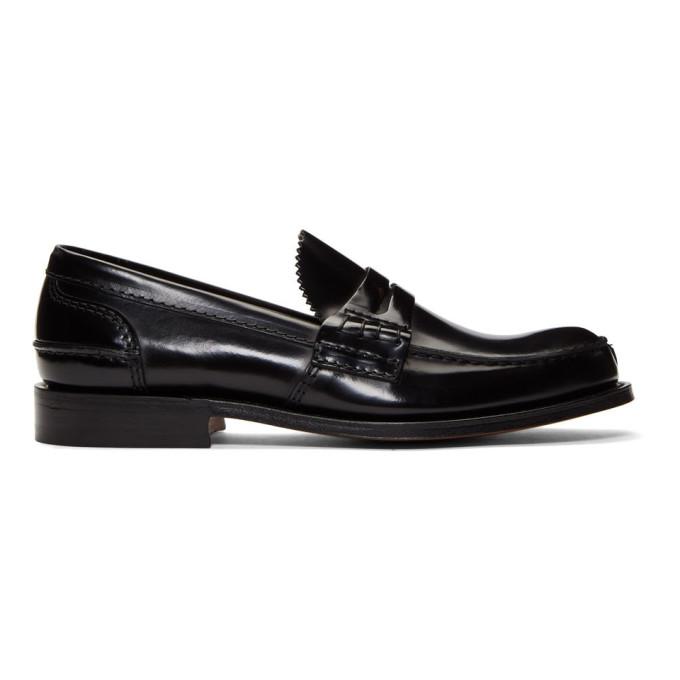 Image of Church's Black Tunbridge Loafers