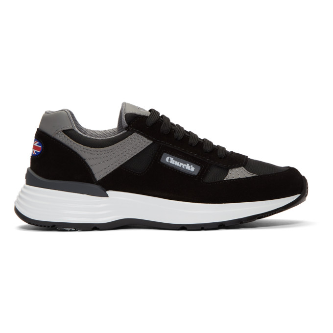 Image of Church's Black Suede CH873 Sneakers