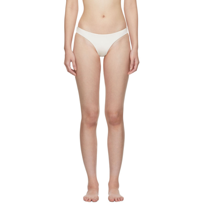 MYRASWIM Myraswim White Cindy Bikini Bottoms in Vanilla