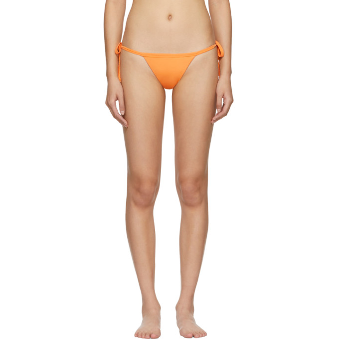 MYRASWIM Myraswim Orange Hana Bikini Bottoms in Citrus