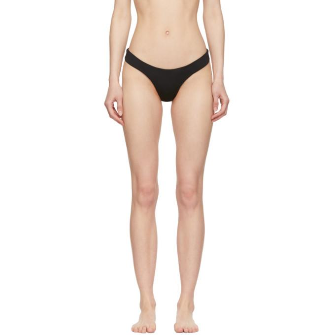 Myraswim Culotte de bikini noire Cindy