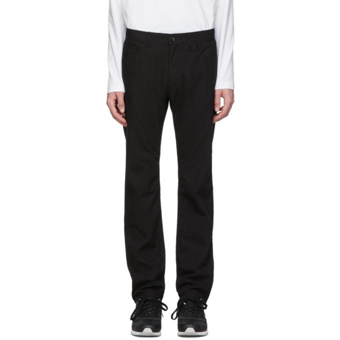 Image of Comme des Garçons Homme Black Gabardine Trousers