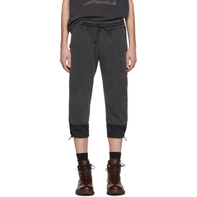 Remi Relief Pantalon de survetement ecourte noir