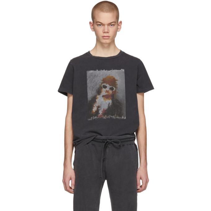 REMI RELIEF Remi Relief Ssense Exclusive Black Glasses T-Shirt