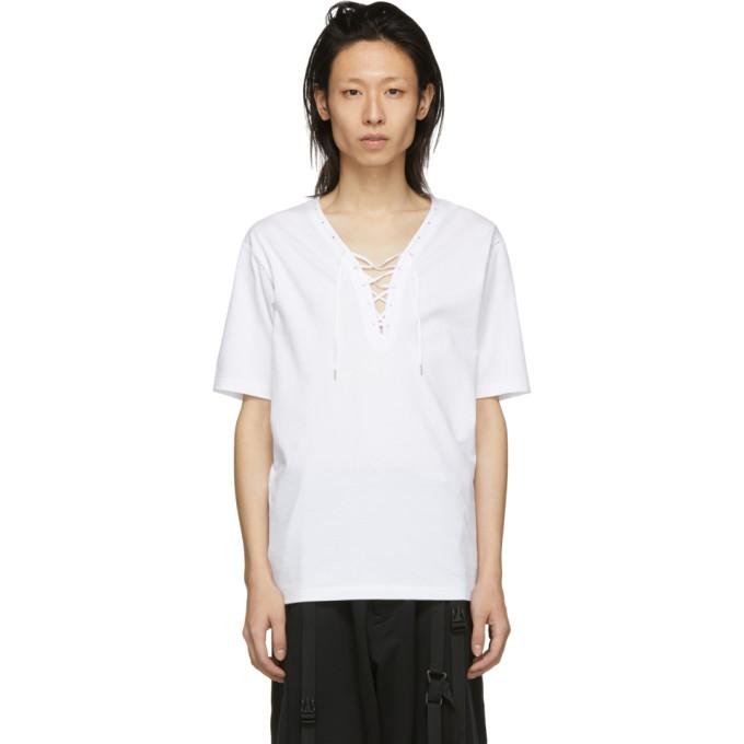 Kozaburo T-shirt lace blanc Assa