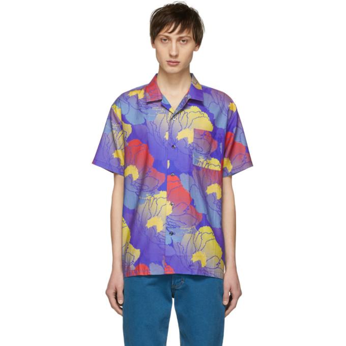 Double Rainbouu Chemise hawaienne multicolore Fast Paradise