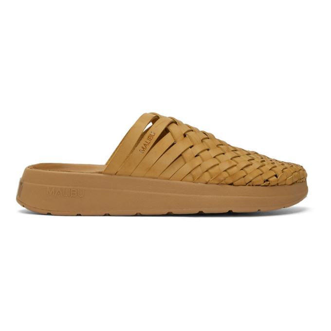Malibu Sandals Sandales brun clair Colony
