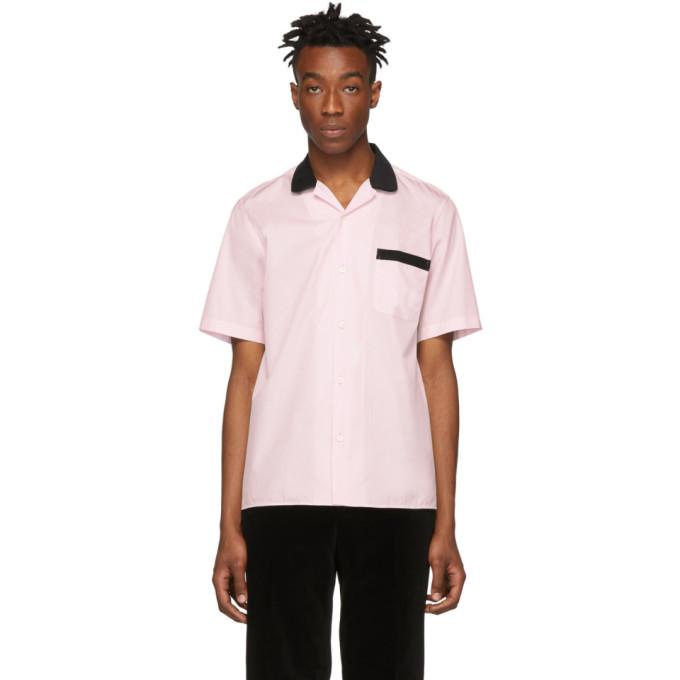 Image of Cobra S.C. Black & Pink Lounge Short Sleeve Shirt