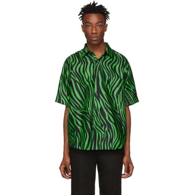 Image of Cobra S.C. Black & Green Model 1 Short Sleeve Shirt