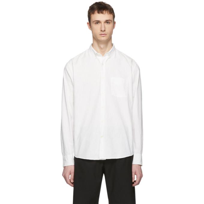 LHomme Rouge Chemise blanc casse Craft