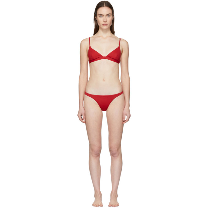 Her Line Bikini rouge Ava and Tri