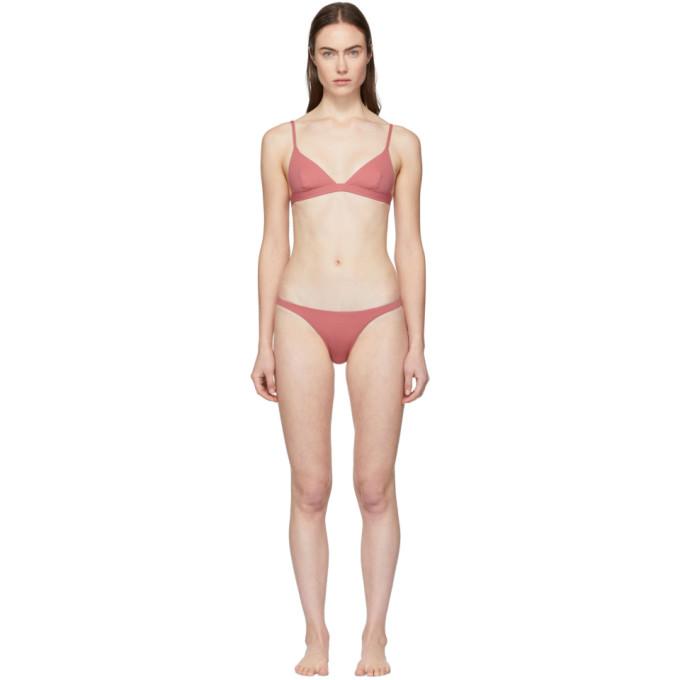Her Line Bikini rose Ava and Tri