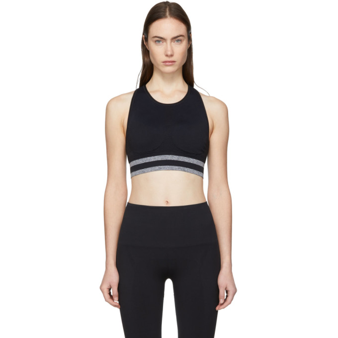 LNDR Black Shape Sports Bralette