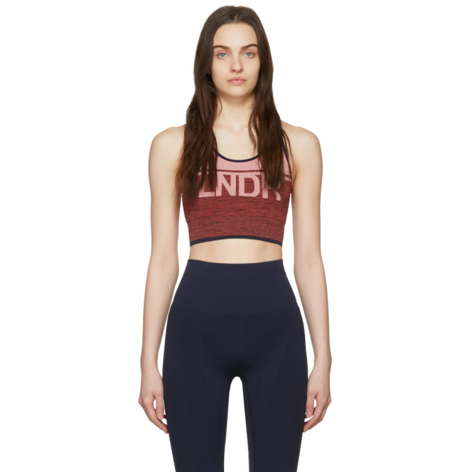 Lndr Tops LNDR PINK AND RED A-TEAM SPORTS BRA