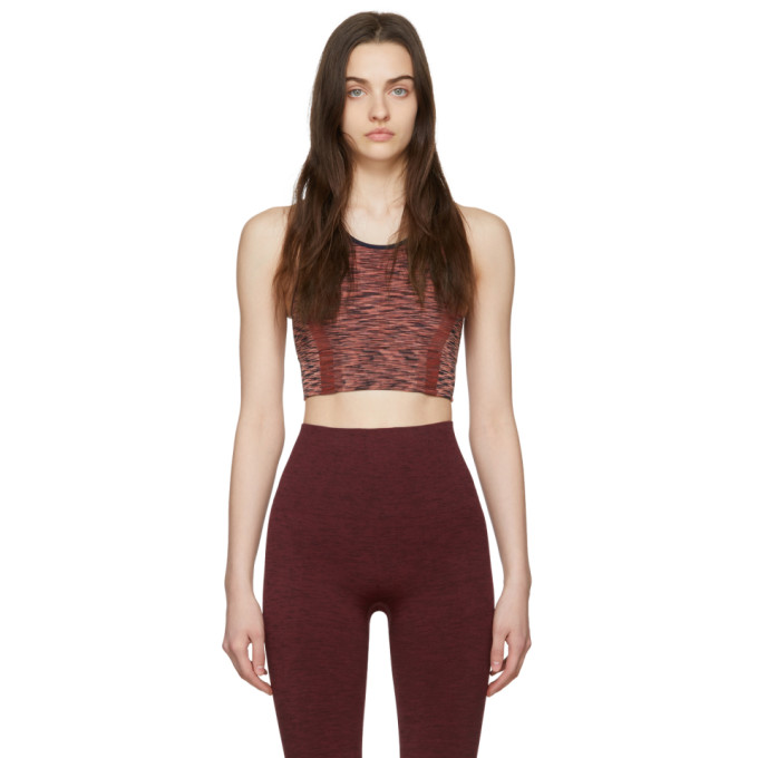Lndr Tops LNDR PINK SPACE SPORTS BRA