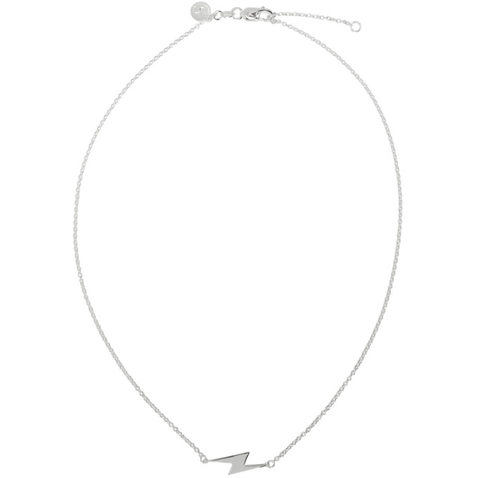 STOLEN GIRLFRIENDS CLUB Stolen Girlfriends Club Silver Side Shock Necklace