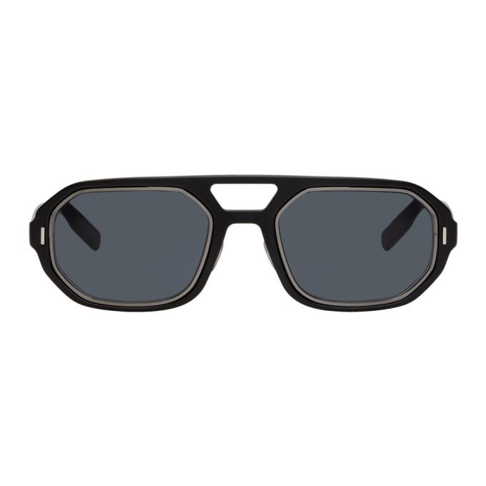 Image of Dior Homme Black Matte Sunglasses