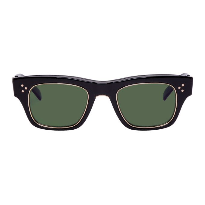 MR. LEIGHT Mr. Leight Black Go S 48 Sunglasses in Blk12Kwht