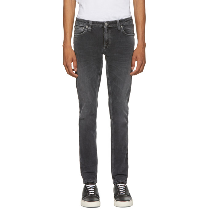 Nudie Jeans Grey Skinny Lin Jeans