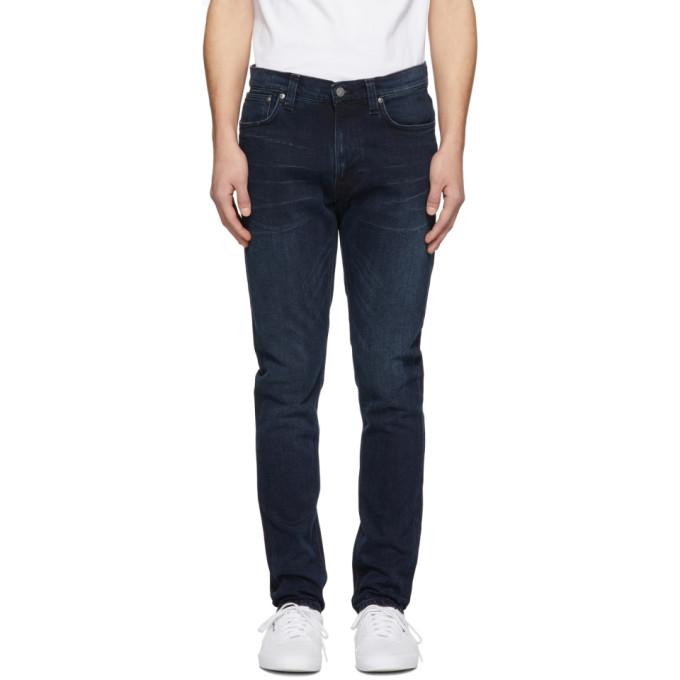 Nudie Jeans Indigo Lean Dean Jeans