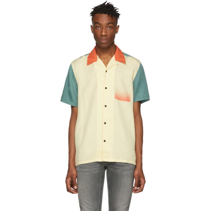 Nudie Jeans Chemise a manches courtes multicolore Colors Jack
