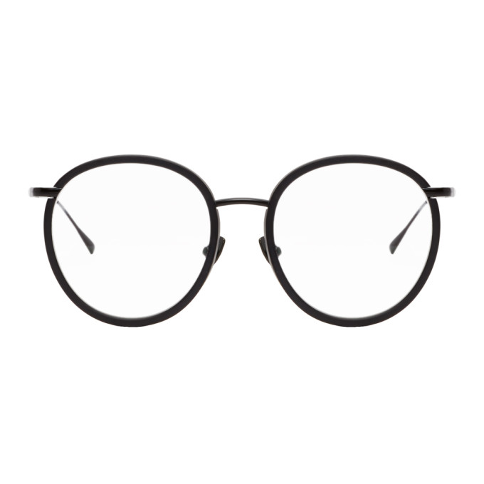 Image of Belstaff Black Kelby Glasses