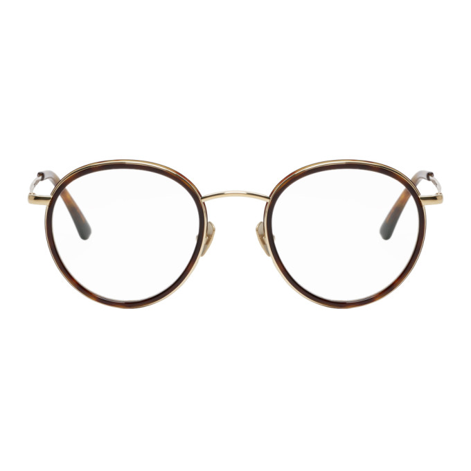 Image of Belstaff Tortoiseshell Slipway Glasses