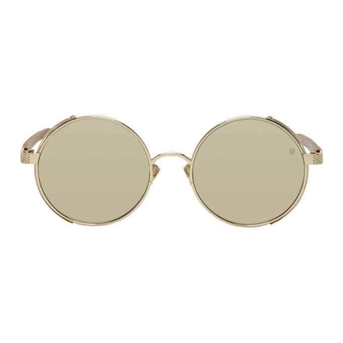 Belstaff Gold Trophy Sunglasses