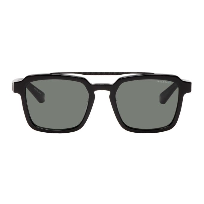 Image of Belstaff Black Cassell Sunglasses