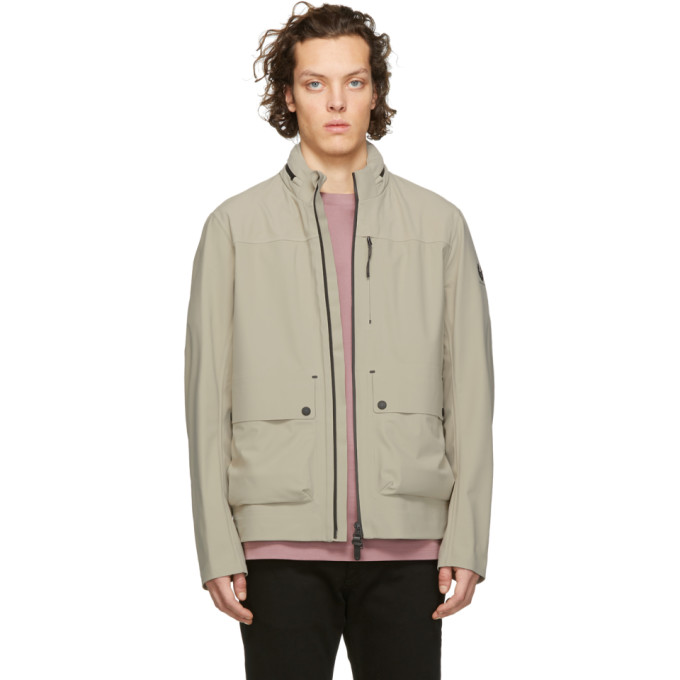 Image of Belstaff Beige Drift Jacket