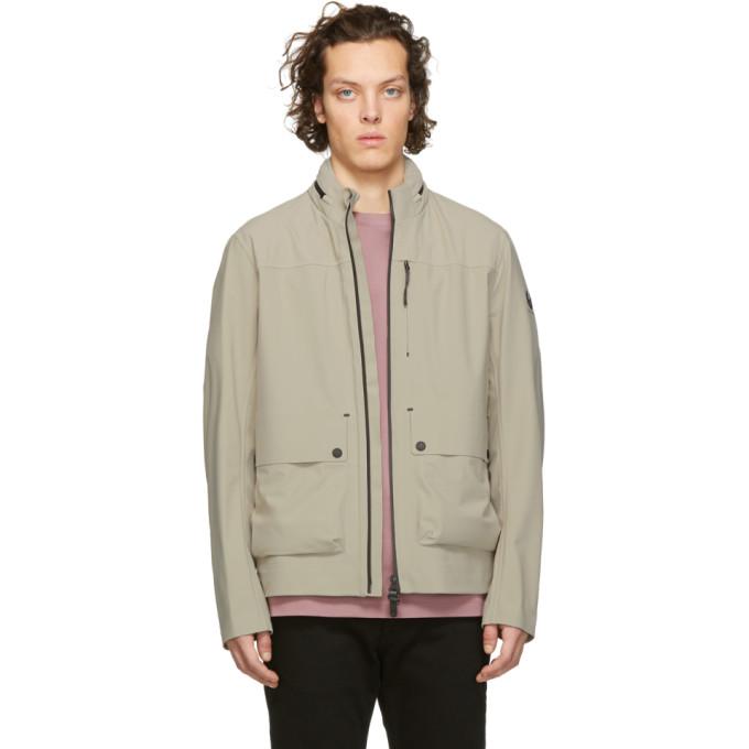 Image of Belstaff Beige Drift Jacket
