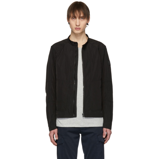 Image of Belstaff Black Ravenstone Jacket