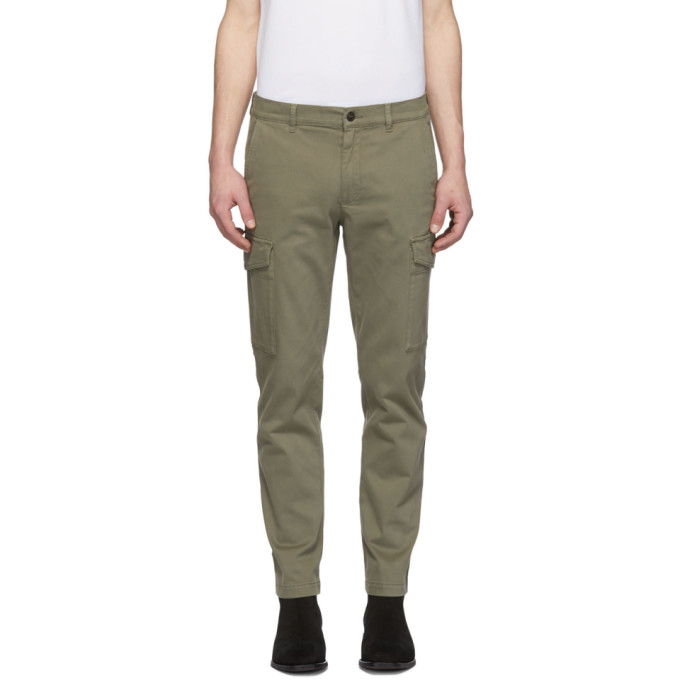 Image of Belstaff Khaki Oak Turnpike Trousers