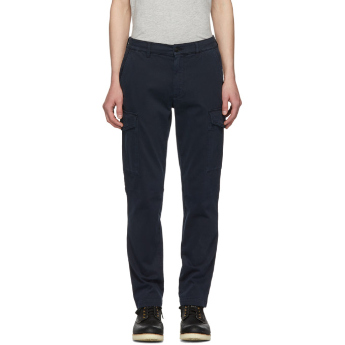 Image of Belstaff Navy Oak Turnpike Trousers