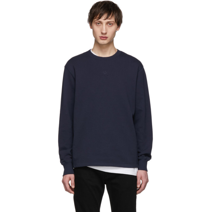 Image of Belstaff Navy Reydon Sweater