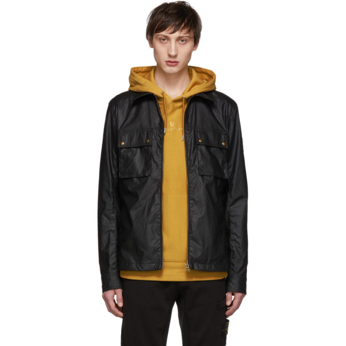 Image of Belstaff Black Dunstall Jacket