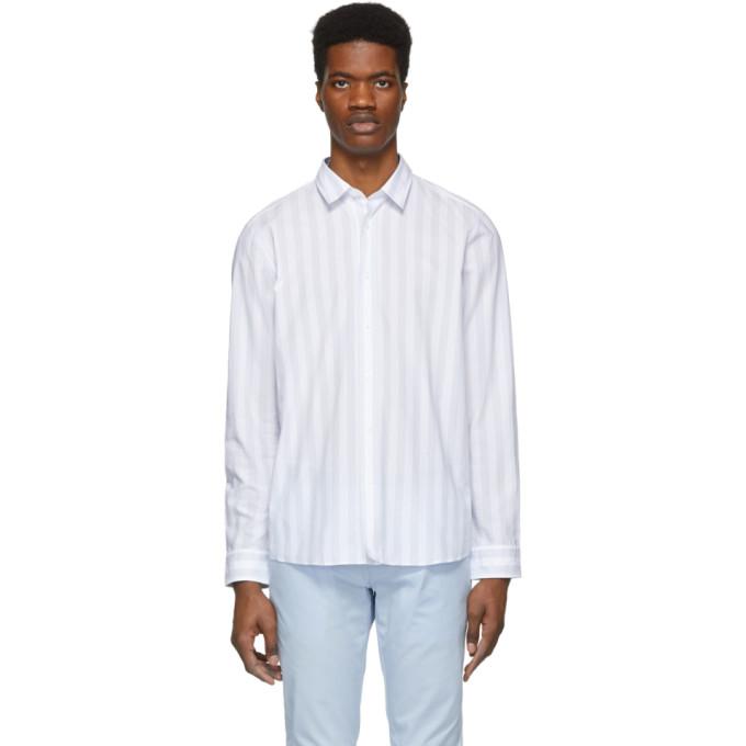 ed446186e BUY Hugo White and Grey Emorino Shirt