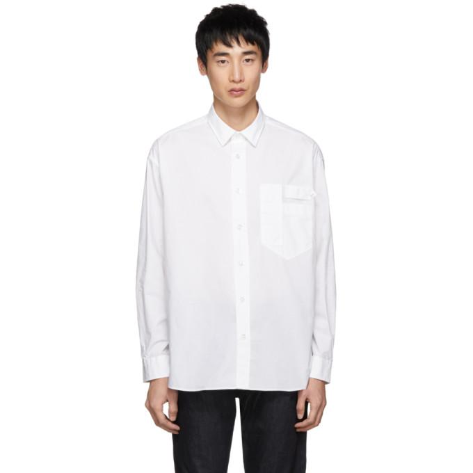 Hugo ホワイト Eamonn Lab シャツ
