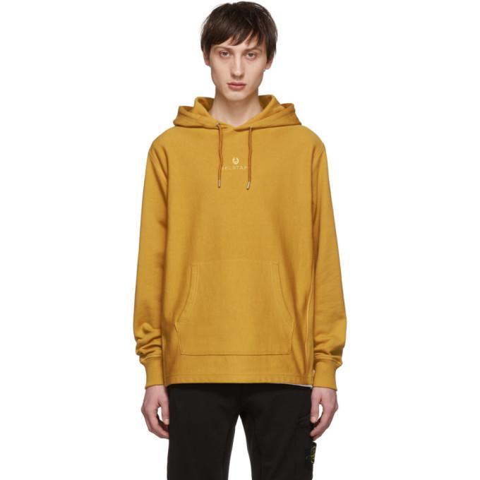 Image of Belstaff Yellow Padox Hoodie