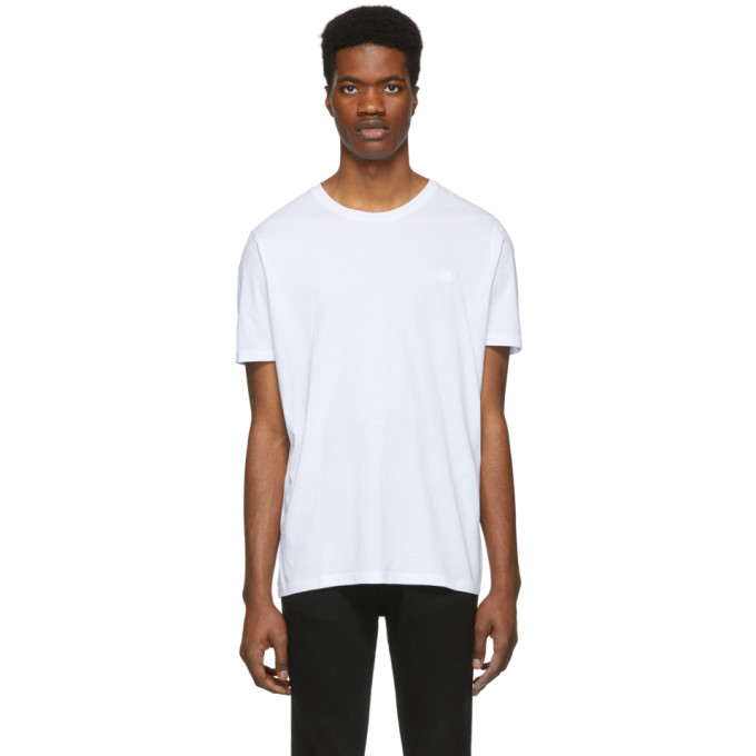 Hugo Boss Mens Thinkta Relaxed Fit Tee with Patch Chest Pocket