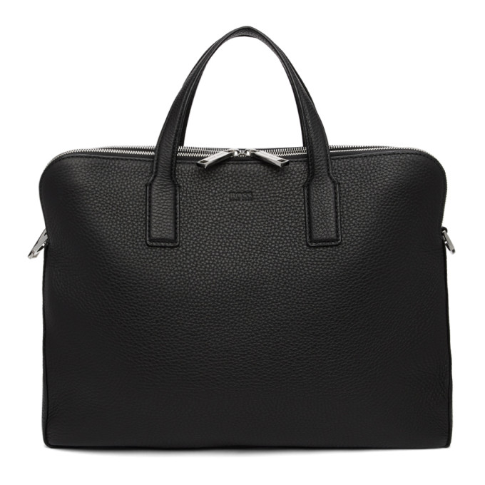 Image of Boss Black Double Document Briefcase