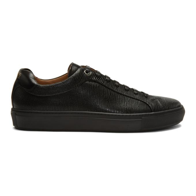 BOSS Ed Low Top Sneaker in 001 Black