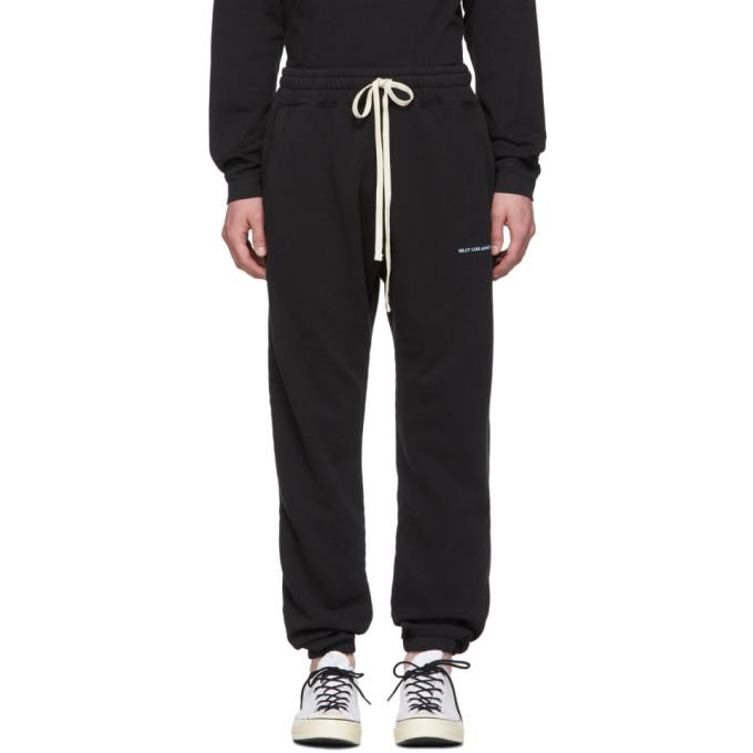 Billy Pantalon de survetement a logo noir