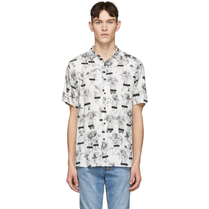 KSUBI KSUBI WHITE NAUGHTY BOYS SHIRT