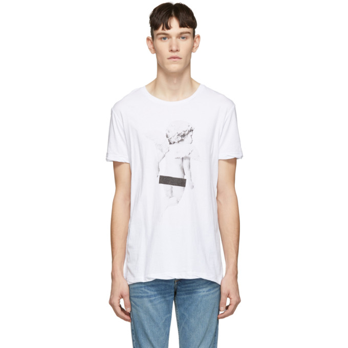 KSUBI KSUBI WHITE NAUGHTY BOYS T-SHIRT