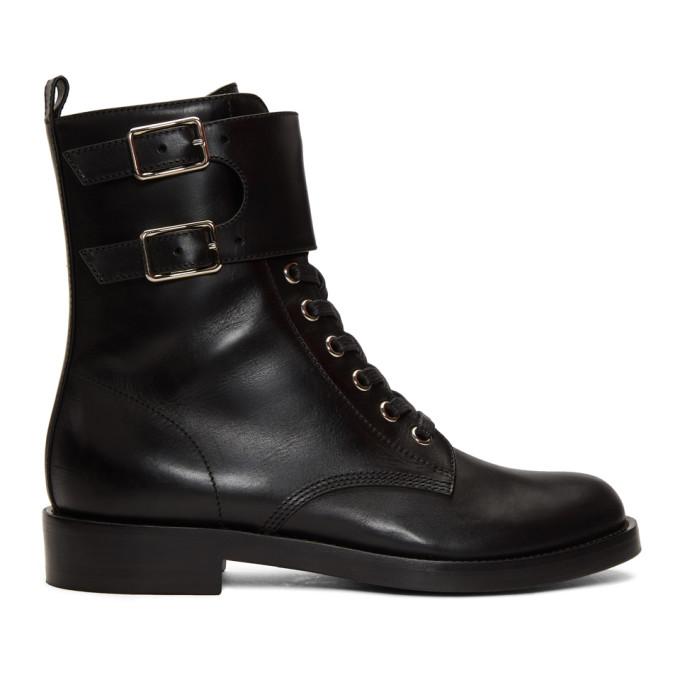 Gianvito Rossi Black Lagarde Boots
