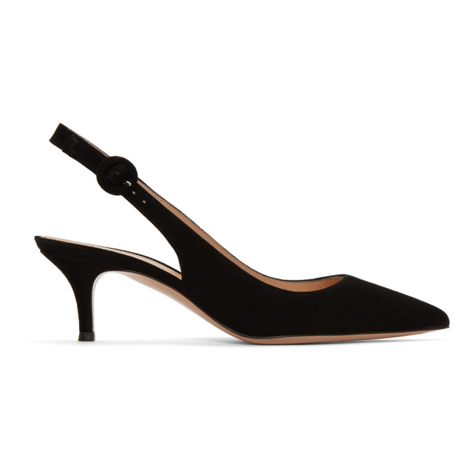 Exclusive To Mytheresa.Com - Anna Satin Slingback Pumps in Black