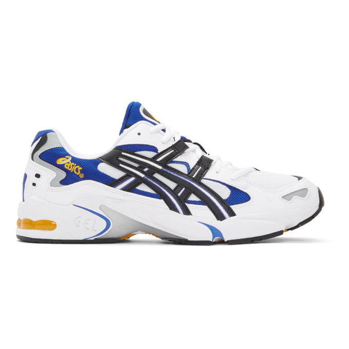 Asics White & Black Gel-Kayano 5 OG Sneakers