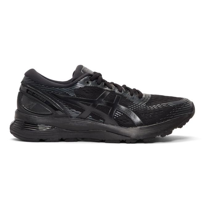 Image of Asics Black Gel-Nimbus 21 Sneakers