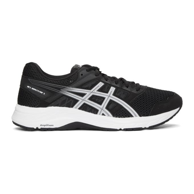 Image of Asics Black Gel-Contend 5 Sneakers
